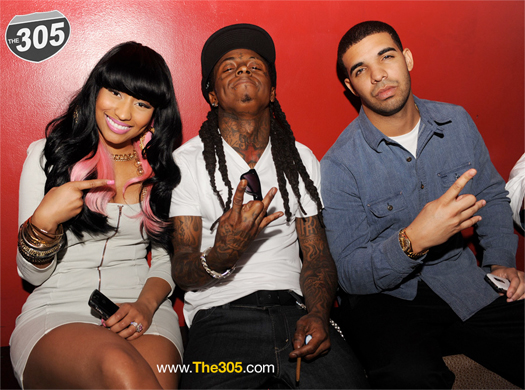 Lil Wayne And Drake And Nicki Minaj Lil Wayne Joking Aroun...