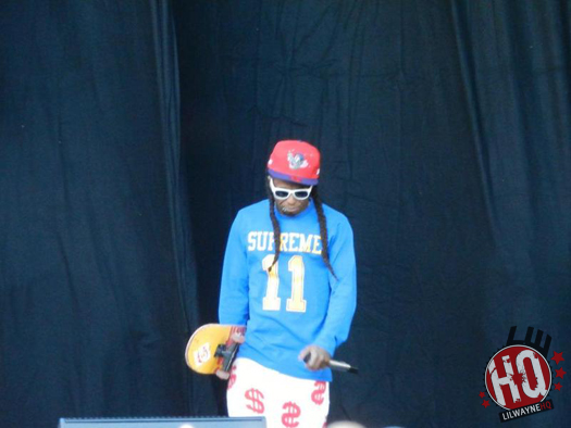 Pictures Of Lil Wayne Performing At The Sydney Football Stadium In Australia
