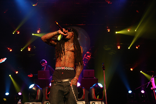 Pictures Of Lil Wayne & Drake Performing In Las Vegas