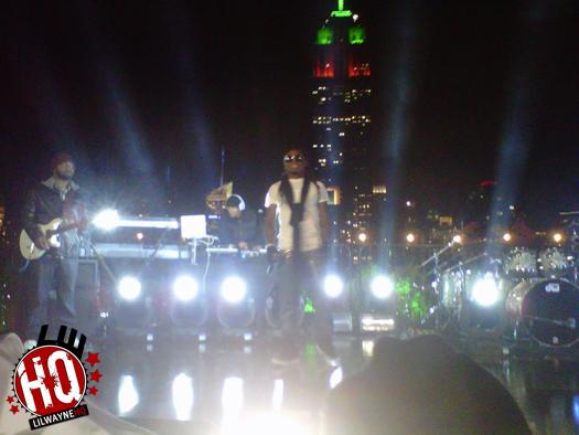 Lil Wayne & Nicki Minaj Perform At Carson Daly Taping