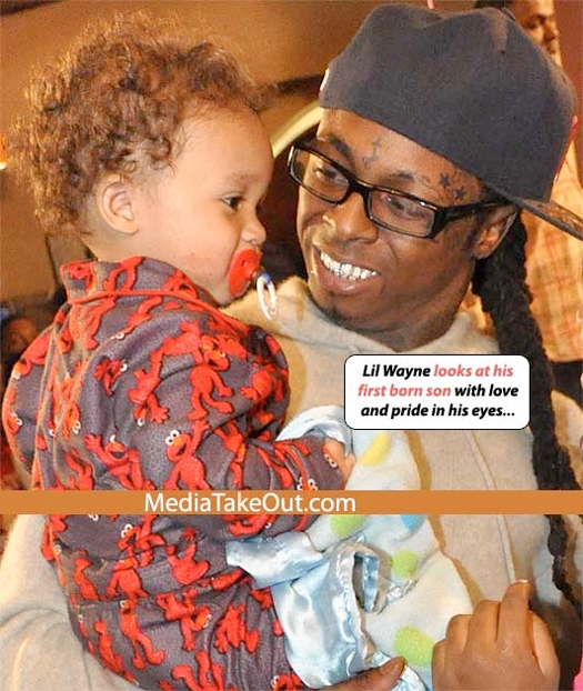 Pictures Of Lil Wayne Celebrating His Daughters 11th Birthday With His One Year Old Son