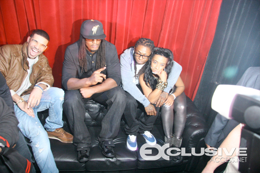 Lil Wayne At Shanells Birthday Party In Atlanta