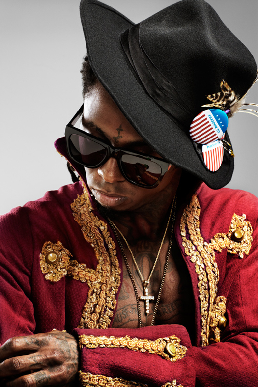 Lil Wayne Photo Shoot With VIBE Magazine