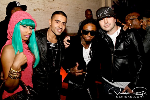 Lil Wayne & YMCMB At Welcome Home Weezy Party