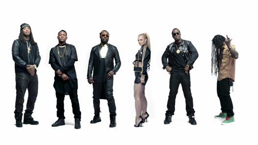 Will.I.Am Scream & Shout Remix Feat Lil Wayne & Various Artists Music Video