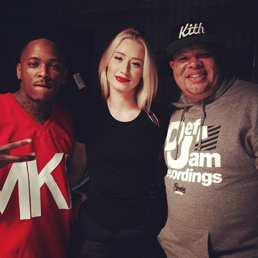 On Set Of YG My Nigga Remix Video Shoot With Lil Wayne & Others