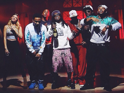 Young Money Lil Wayne, Euro & Birdman We Alright Music Video