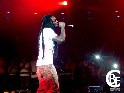 Lil Wayne Holds Benefit Show In Arizona
