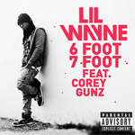 Lil Wayne 6 Foot 7 Foot Single
