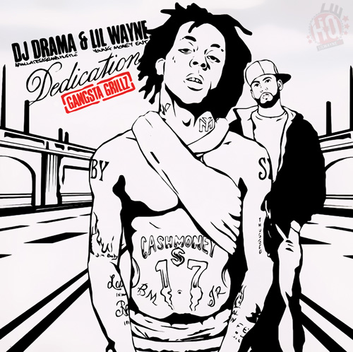 Lil Wayne Dedication Mixtape Front Cover