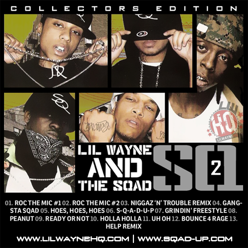 Sqad Up SQ2 Mixtape Front Cover