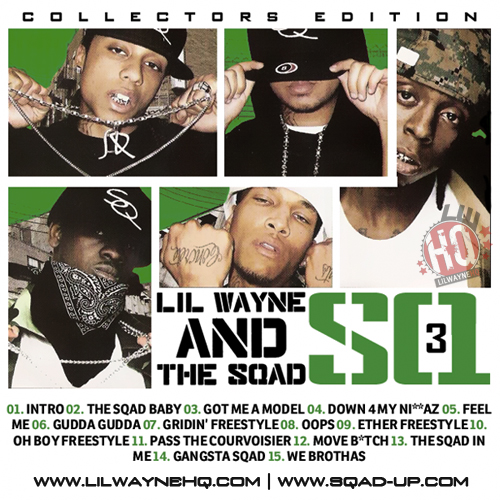 Sqad Up SQ3 Mixtape Front Cover