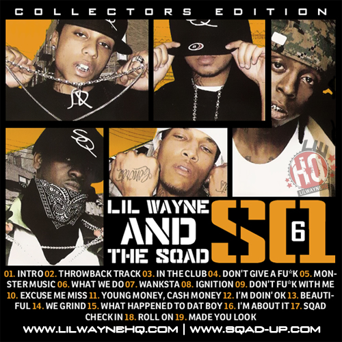 Sqad Up SQ6 Mixtape Front Cover