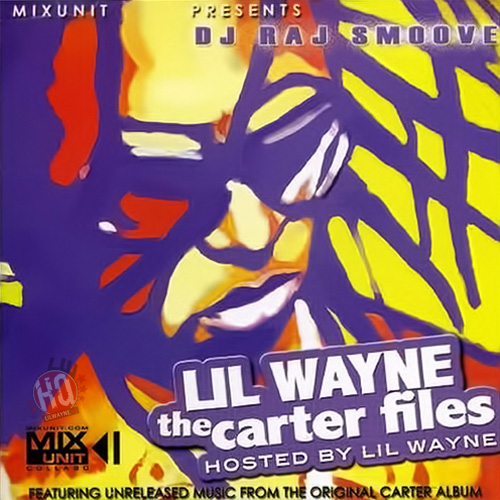 Lil Wayne The Carter Files Mixtape Front Cover