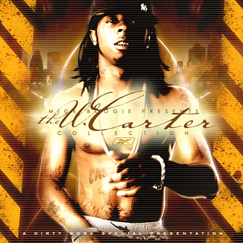 Lil Wayne The W Carter Collection Mixtape Front Cover
