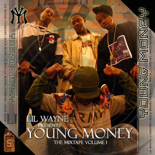 Lil Wayne Young Money The Mixtape Vol 1 Front Cover