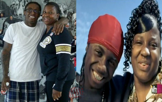 Lil Wayne & Mother Jacida Carter