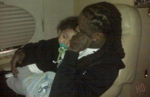 Lil Wayne & His Son Dwayne Michael Carter III