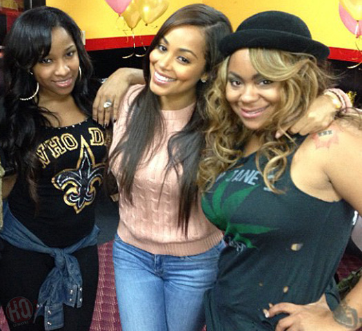 Lil Wayne Baby Mothers Antonia Wright, Lauren London & Nivea