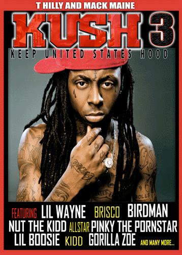 Lil Wayne Kush 3 DVD