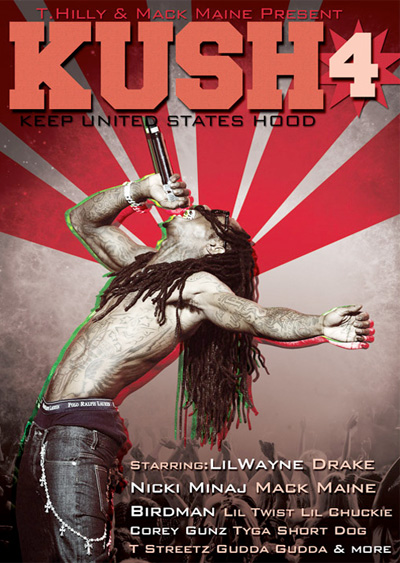 Lil Wayne Kush 4 DVD