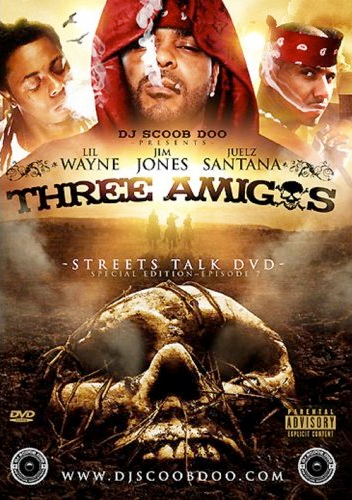 Lil Wayne Three Amigos DVD