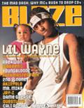 Lil Wayne Blaze Magazine Cover 2000