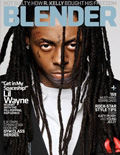 Lil Wayne Blender Magazine Cover 2008