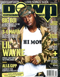 Lil Wayne DOWN Magazine Cover 2005