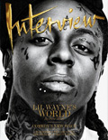 Lil Wayne Interview Magazine Cover 2011
