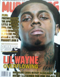 Lil Wayne Murder Dog Magazine Cover 2008