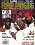 Lil Wayne Rap Pages Magazine Cover 1999