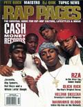 Lil Wayne Rap Pages Magazine Cover 1999