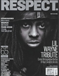 Lil Wayne RESPECT Magazine Cover 2013