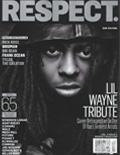 Lil Wayne RESPECT Magazine Cover 2013
