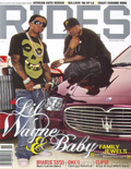 Lil Wayne RIDES Magazine Cover 2006
