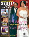 Lil Wayne Sister 2 Sister Magazine Cover 2012