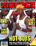 Lil Wayne The Source Magazine Cover 1999