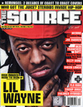 Lil Wayne The Source Magazine Cover 2008