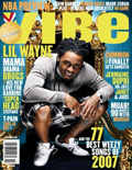 Lil Wayne Vibe Magazine Cover 2007