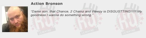 Action Bronson Compliments Lil Wayne