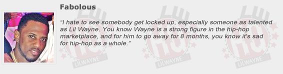 Fabolous Compliments Lil Wayne