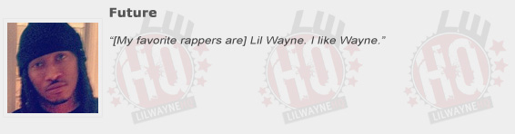 Future Compliments Lil Wayne