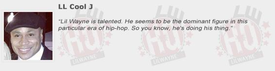 LL Cool J Compliments Lil Wayne