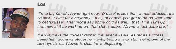 Los Compliments Lil Wayne