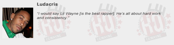 Ludacris Compliments Lil Wayne