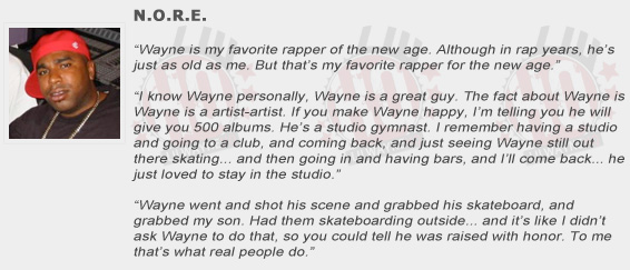 N.O.R.E. Compliments Lil Wayne