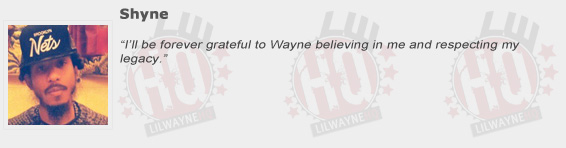 Shyne Compliments Lil Wayne