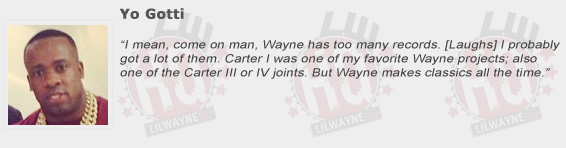 Yo Gotti Compliments Lil Wayne