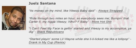 Juelz Santana Shouts Out Lil Wayne